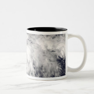 Tropical Storm Fay 4 Two-Tone Coffee Mug