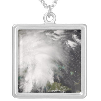 Tropical Storm Fay 5 Silver Plated Necklace