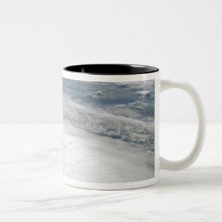 Tropical Storm Fay 6 Two-Tone Coffee Mug