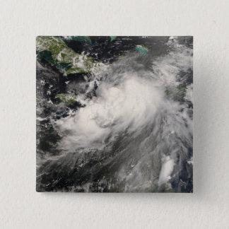 Tropical Storm Gustav in the Caribbean Sea 15 Cm Square Badge