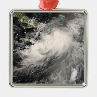 Tropical Storm Gustav in the Caribbean Sea Christmas Ornament