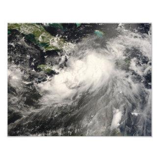 Tropical Storm Gustav in the Caribbean Sea Photo Print