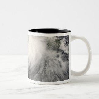 Tropical Storm Gustav in the Caribbean Sea Two-Tone Coffee Mug