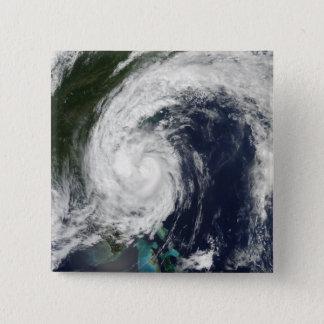 Tropical Storm Hanna over the East Coast 15 Cm Square Badge