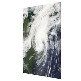 Tropical Storm Hanna over the East Coast 2 Canvas Print
