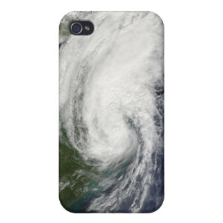 Tropical Storm Hanna over the East Coast 2 iPhone 4 Cover
