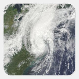 Tropical Storm Hanna over the East Coast 2 Square Sticker