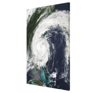 Tropical Storm Hanna over the East Coast Canvas Print