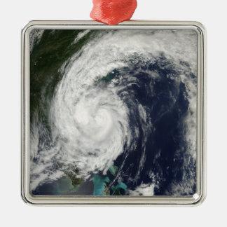 Tropical Storm Hanna over the East Coast Christmas Ornament