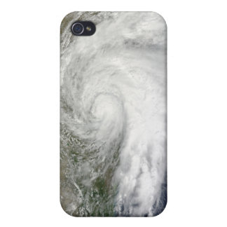 Tropical Storm Hermine over Texas iPhone 4 Cover