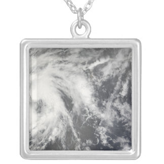Tropical Storm Josephine Silver Plated Necklace