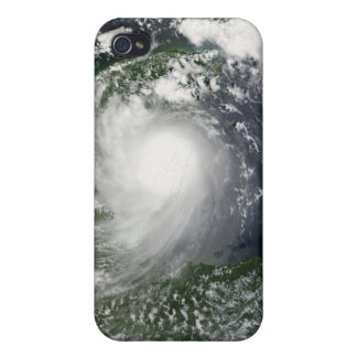 Tropical Storm Karl over the Yucatan Peninsula iPhone 4 Covers