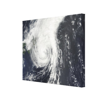 Tropical Storm Krovanh Canvas Print