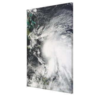 Tropical Storm Noel over Haiti Canvas Print