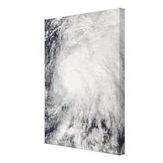Tropical Storm Noel over the Bahamas Canvas Print