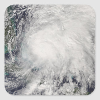 Tropical Storm Noel over the Bahamas Square Sticker