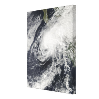 Tropical Storm Rick approaching Mexico Canvas Print