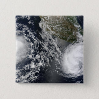 Tropical Storms Blas and Celia 15 Cm Square Badge