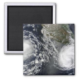 Tropical Storms Blas and Celia Magnet