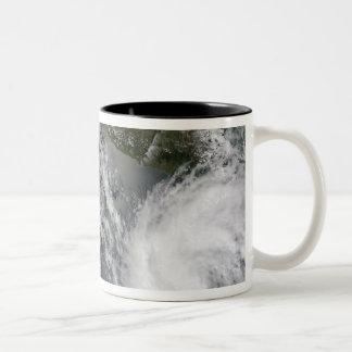 Tropical Storms Blas and Celia Two-Tone Coffee Mug