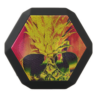 Tropical Summer Black Bluetooth Speaker