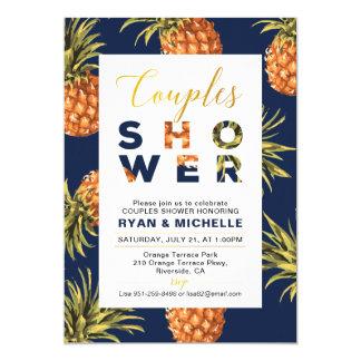 Tropical Summer Couples Wedding Shower Invitation