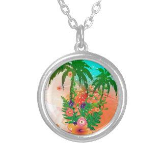 Tropical summer design custom jewelry