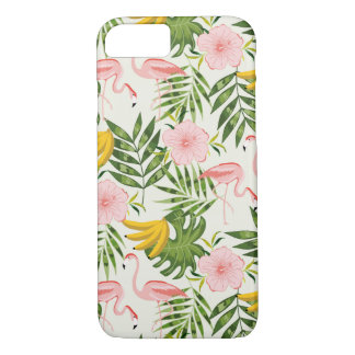 Tropical Summer Flamingo iPhone 7 Case