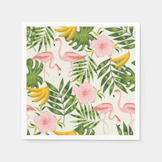 Tropical Summer Flamingo Napkin Disposable Napkin