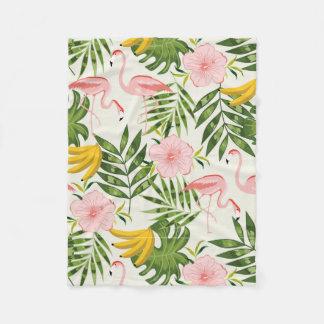 Tropical Summer Fleece Blanket