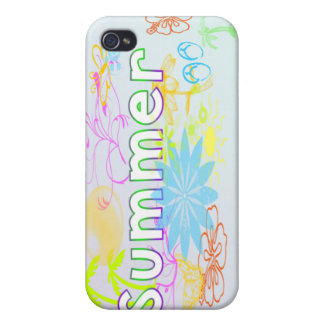 Tropical Summer  Cases For iPhone 4