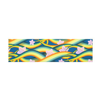 Tropical Summer Island Tentacles Canvas Print