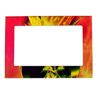 Tropical Summer Magnetic Picture Frame