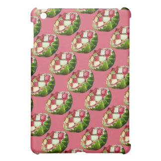 Tropical Summer Picnic Fruit Salad Pink Pattern Case For The iPad Mini