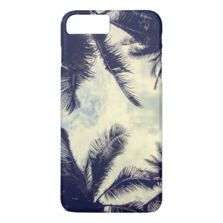 Tropical Summer Sky and Palm Leaves | Phone Case