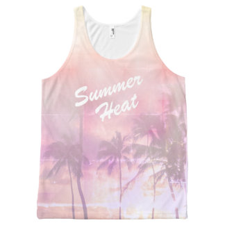 Tropical summer vibes All-Over print tank top