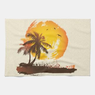 Tropical Sun Tea Towel
