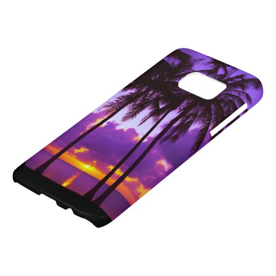 Tropical Sunset 3 Samsung Galaxy S7 Case