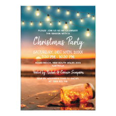 Tropical Sunset Beach Christmas Party
