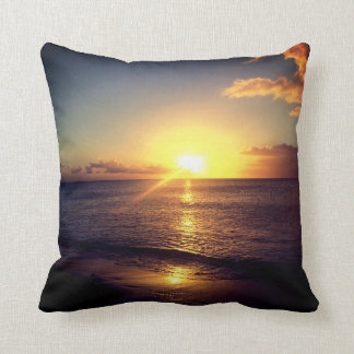 Tropical Sunset Cushion