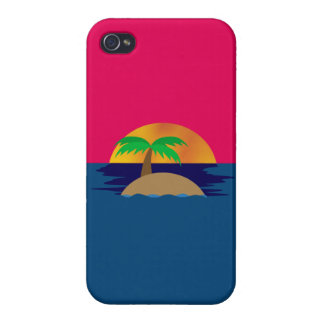 Tropical Sunset iPhone 4/4S Case