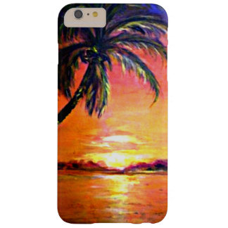 Tropical Sunset, my artwork Barely There iPhone 6 Plus Case