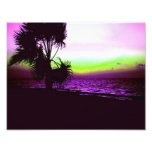 Tropical Sunset Photo Print