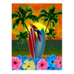 Tropical Sunset Postcards