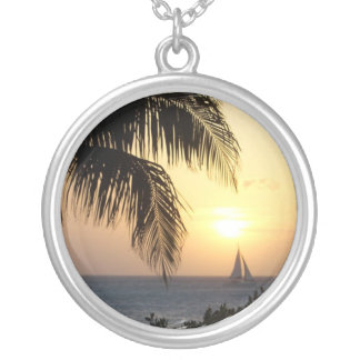Tropical Sunset Sail Necklace