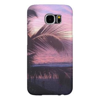 Tropical Sunset Samsung Galaxy S6 Case