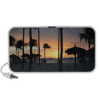 Tropical Sunset iPod Speakers
