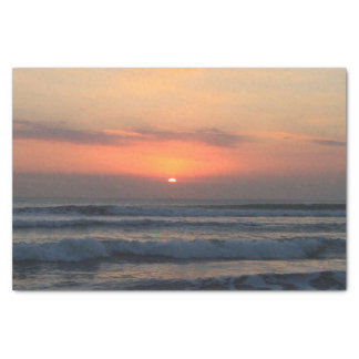 Tropical sunset tissue paper
