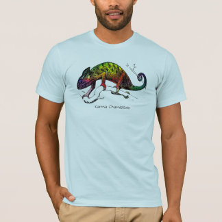 Tropical Tee Collection: Karma Chameleon