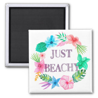 Tropical Theme Magnet for Beach House Florida Home
